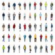50 Silhouetten Jugend modern
