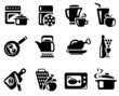 Kitchen and cooking icon set - 41189572