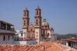 Über den Dächern von Taxco, Mexico