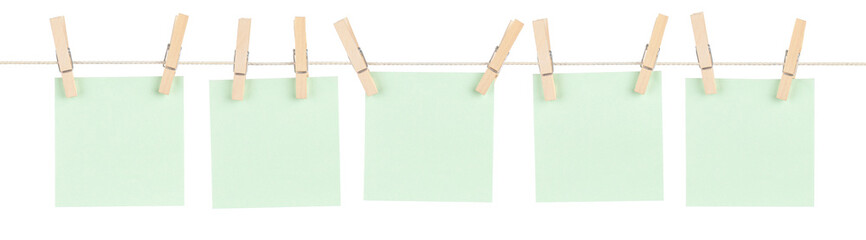 Green Pinned Notes