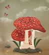 Mushrooms family