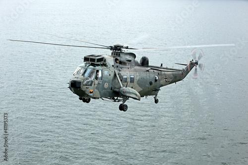 Tuinposter Helicopter CH-53 Helikopter der Bundeswehr