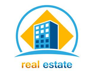 Immobilien, Bauunternehmen - Firmenzeichen