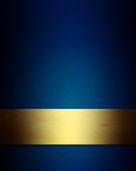 elegant blue and gold Christmas background