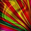 Multicolor Sunbeams grunge background with folds
