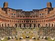Trajan's Market in Rome, Italy