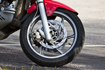 motorcycle wheel