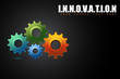 Cogwheel in Innovation Concept