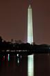 Washington Monument Post Office Night  DC