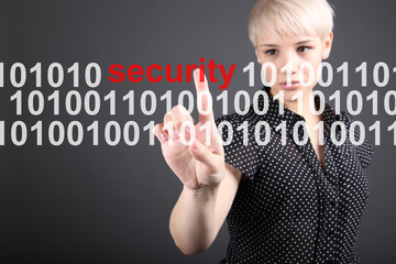 Internet security - technology security concept
