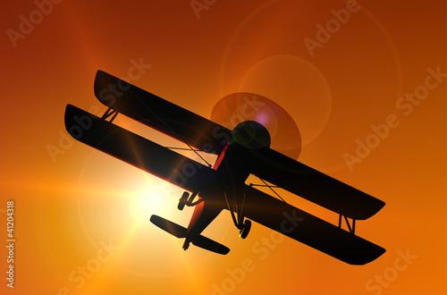 historische Flugzeuge: Doppeldecker