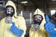Experten in Fabrik warnen vor Strahlgefahr