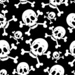 Seamless pirate theme background 1