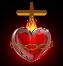 Ilustracja z Najświętszego Serca