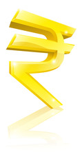 Rupee currency sign