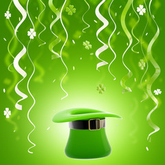 St. Patrick day colorful background