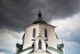 The pilgrimage church Green Hill - Monument UNESCO poster