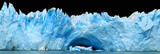 Fototapety Icebergs isolated on black