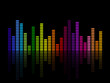 Vector illustration of a music equalizer