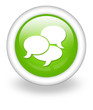 "Light Green Icon ""Chat"""