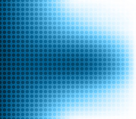 abstract  halftone blue colorful  background vector