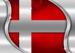 Denmark Metal Flag