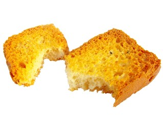 Pieces of toast