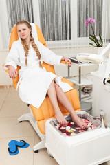 girl in beauty salon