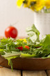 Salat aus Löwenzahn