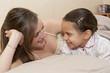 Complicité entre une maman et sa fille