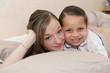Portrait d'une mère et sa fille