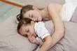 Dormir avec son enfant