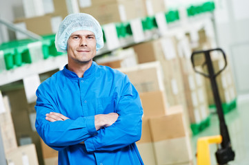 medical warehouse worker