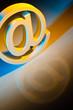 E-Mail Zeichen. Online Kommunikation.