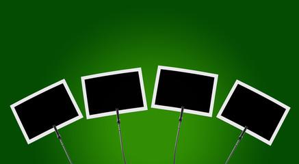 Fotoclip 4x vor grünem Hintergrund 1