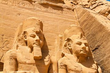 Ägypten, Abu Simbel,Felstempel