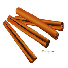 Cinnamon Sticks, fragrant spice for cooking, baking. Medicinal.