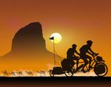 Vélo au désert 1