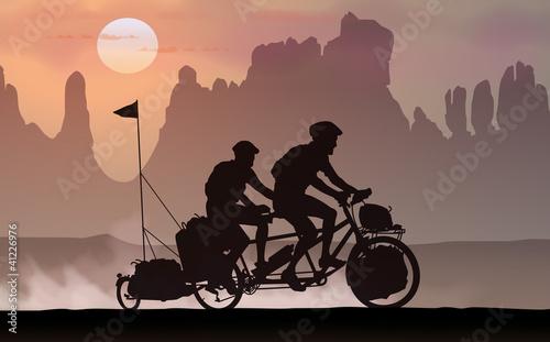 Vélo au désert 2