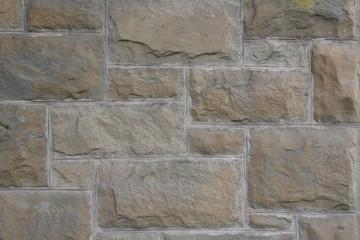 Vintage Rectangular Sandstone Wall