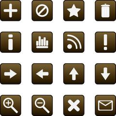 Universal vector icons