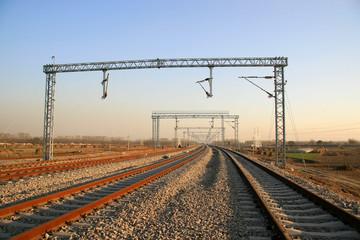 railway transportation artery in north China
