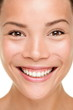 Beauty skin care woman closeup