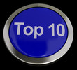 Top Ten Button Showing Best Rated In Charts
