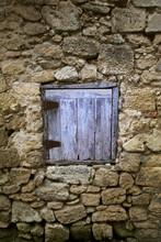 House, rudera, okno nieruchomości, wieś, biedna, Kamień,
