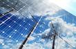 Leinwanddruck Bild - green energy background