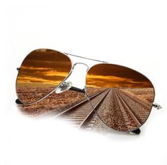 occhiali ferrovia