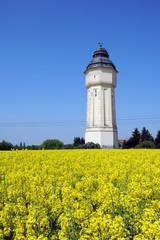 Historischer Wasserturm von 1913 Engelsdorf in Leipzig
