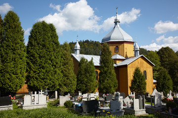 Small church on the graveyard
