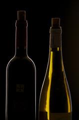 2 Weinflaschen
